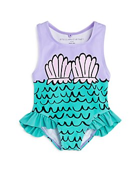Stella McCartney - Girls' Mermaid One-Piece Swimsuit - Baby