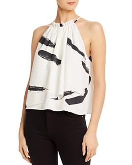 Joie - Polina Printed Crossover Top