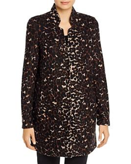 Vero Moda - Leopard-Print Knit Coat