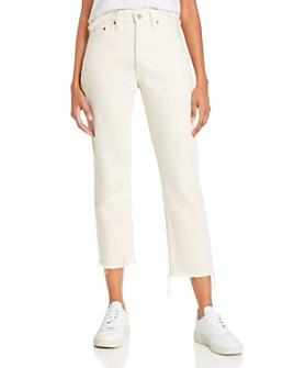 Levi's - 501 Crop Jeans in Neutral Ground