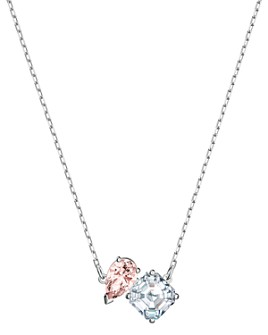 "Swarovski - Attract Soul Crystal Pendant Necklace, 14.88"""
