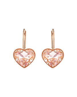 Swarovski - Bella Crystal Heart Earrings