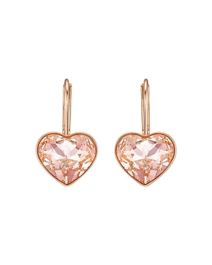 Swarovski - Bella Crystal Heart Earrings