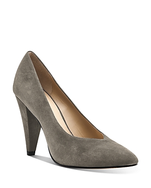 Botkier WOMEN'S LINA POINTED TOE SUEDE PUMPS