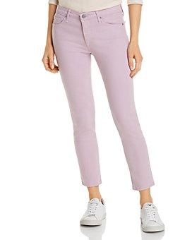AG - Cigarette Crop Jeans in Purple Haze