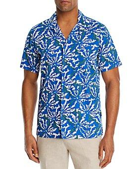 John Varvatos Star USA - Floral Regular Fit Camp Shirt - 100% Exclusive