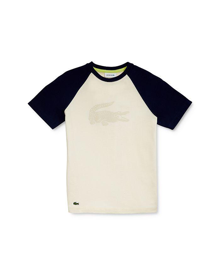 Lacoste - Boys' Croc Baseball Tee - Little Kid, Big Kid