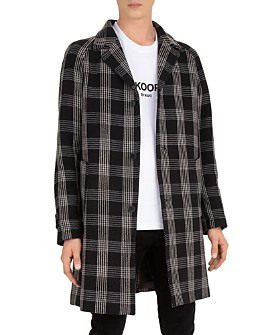The Kooples - Kilty Mood Checked Coat