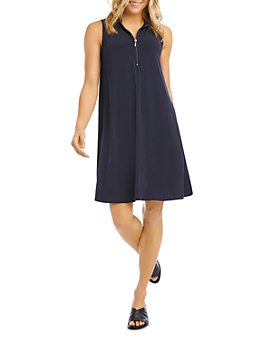Karen Kane - Sleeveless A-Line Dress