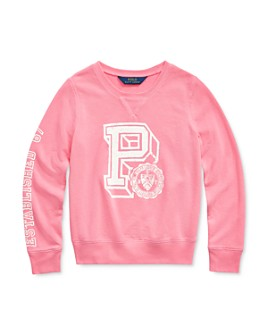 Ralph Lauren - Girls' Graphic Sweatshirt - Big Kid
