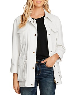 VINCE CAMUTO - Stretch Cotton Twill Jacket