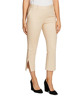 Vince Camuto Double-Weave Cropped Pants-Women