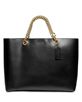 COACH - Chain Leather Tote