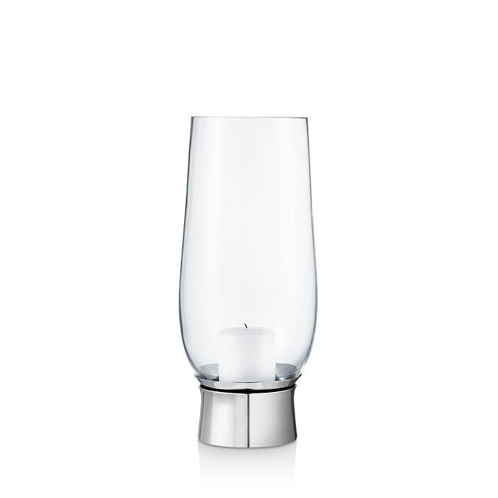 Georg Jensen - Lumis Collection Hurricane Glass Candleholder