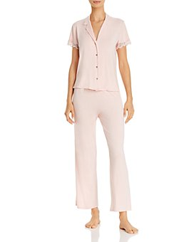 Josie - Solid Bardot Essentials Pajama Set