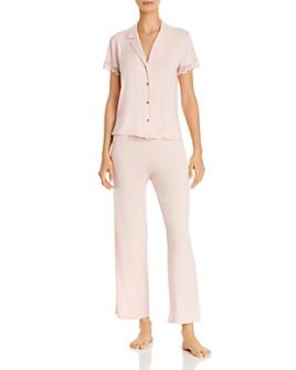 Josie - Solid Bardot Essentials Pajama Set