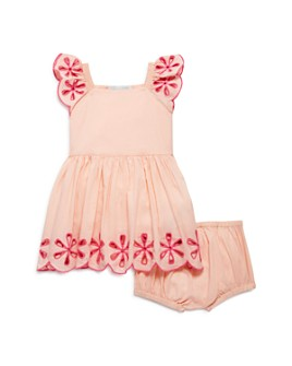Stella McCartney - Girls' Cotton Embroidered Dress & Bloomer Set - Baby