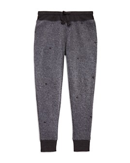 Vintage Havana - Girls' Star Fleece Jogger Pants - Big Kid