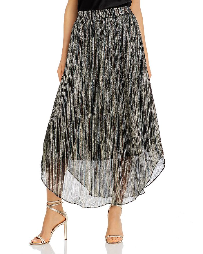 Ramy Brook - Lenon Textured Metallic Maxi Skirt