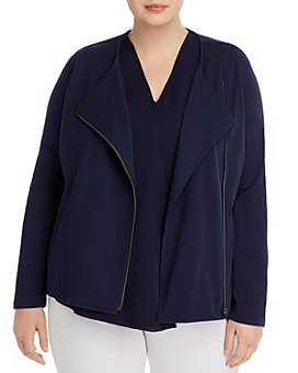 NIC and ZOE Plus - Plus Asymmetric-Zip Jacket