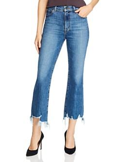 J Brand - Julia High-Rise Flared Jeans in Wonderland Destruct