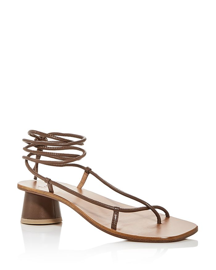LoQ - Women's Olea Strappy Ankle-Tie Sandals