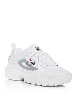 FILA - Women's Disruptor II Monomesh Low-Top Sneakers