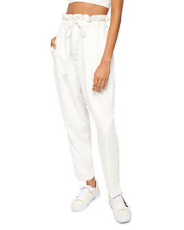 Free People - Margate Pleated Cropped Pants