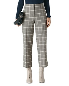 Whistles - Courtney Check Cropped Pants