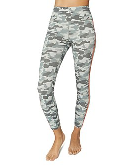 Spiritual Gangster - Essential Camo Rainbow-Stripe Leggings
