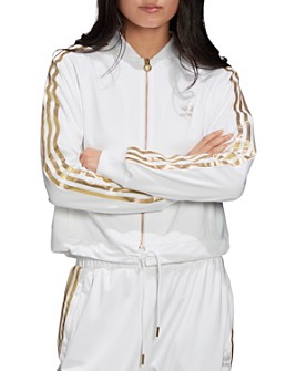 adidas Originals - SST Metallic Triple-Stripe Track Jacket