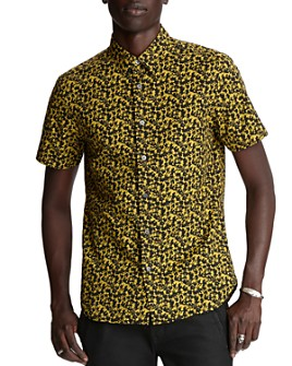 John Varvatos Star USA - Doug Printed Regular Fit Shirt