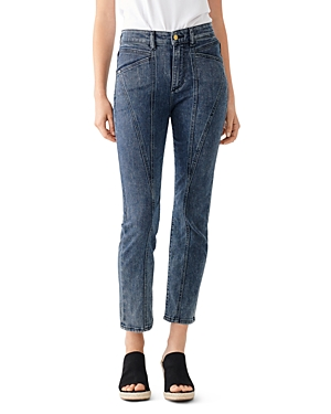 DL1961 Mara High-Rise Straight Jeans in Afton-Women