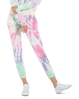 n:philanthropy - Tie-Dyed Pull-On Jogger Sweatpants