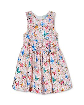 Pippa & Julie - Girls' Butterfly Bow-Front Dress - Baby