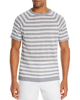 The Men's Store at Bloomingdale's - Linen Striped Shirt - 100% Exclusive