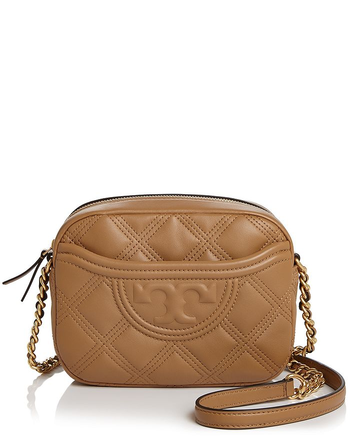 Tory Burch - Fleming Quilted Leather Camera Bag