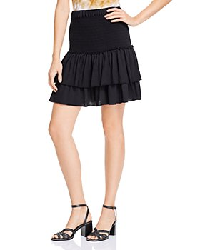 DOLAN - Smocked Tiered Skirt