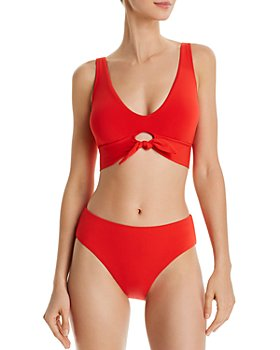 Robin Piccone - Ava Bikini Top & High-Waist Bikini Bottom