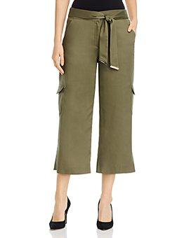 Calvin Klein - Cropped Wide-Leg Pants