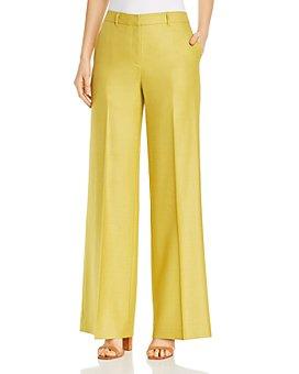 Lafayette 148 New York - Dalton Silk & Wool Wide-Leg Pants