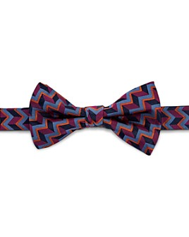 Ted Baker - Alibow Geo-Print Silk Bow Tie