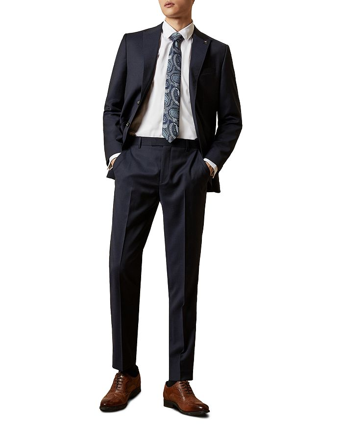 Ted Baker - Walshy Checked Slim Fit Suit Separates