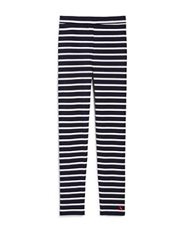 Joules - Girls' Striped Leggings - Little Kid, Big Kid