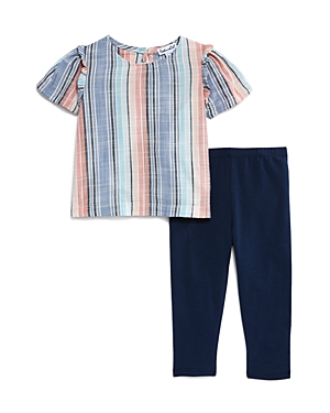 Splendid Girls' Striped Top & Leggings Set - Baby