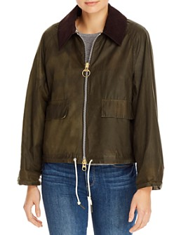 Barbour - by ALEXACHUNG Margot Waxed Cotton Jacket