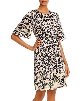 Rebecca Taylor - Kaleidoscope Leopard-Print Dress - 100% Exclusive