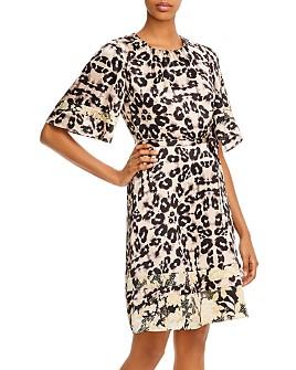 Rebecca Taylor - Kaleidoscope Leopard-Print Dress