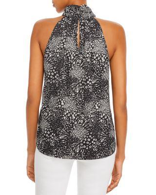 Espresso Women Plus Size 1x Shiny Black Silver Studded Tunic Top Blouse Shirt