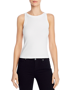 Dylan Rib-Knit Fitted Tank Top